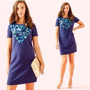 💕NWT Lilly Pulitzer Havyn Embellished Shift Dress